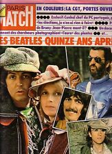 THE BEATLES - PARIS-MATCH N° 1361 06 75 - THE BEATLES  15 ANS APRES