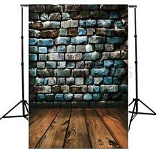 5X7Ft Vinyl Brick Wall Floor Photo Photography Background Backdrop For Studio