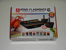 ATARI Flashback 6 Console Vintage Video Game System 100 Built In Games Millipede
