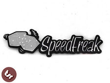 Speed Freak Billet CNC Legshield/Panel/Badge/Emblem px/gp fits VESPA/LAMBRETTA