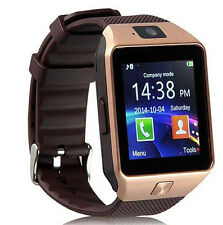 or Bluetooth montre Smart Watch téléphone GSM Carte SIM pour Android IOS iPhone
