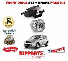 FOR SUZUKI GRAND VITARA 1.9DT DDIS 10/2005-  FRONT BRAKE DISCS + DISC PADS SET
