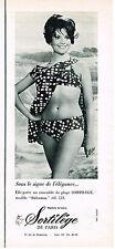 PUBLICITE ADVERTISING 084  1965  SORTILEGE  maillot de bain BAHAMAS