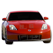 for 350z 03-08 Nissan Poly Fiberglass Front bumper body kit