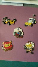 Disney Trading Pin Lot of 5 Donald Pluto Cars Dale on Train