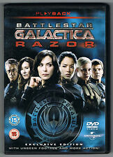 BATTLESTAR GALACTICA - RAZOR - EXCLUSIVE EDITION - DVD IMPORT UK