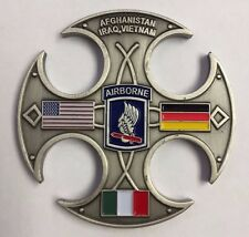 USAF Charlie Company 173D Bridge Support Battalion AirBorne Cut Out Coin