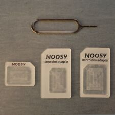 LOTTO 100 4 in 1 NANO MICRO STANDARD SIM ADATTATORE CONVERTITORE 4 Apple iPhone 5 telefono