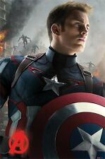 Avengers Age of Ultron poster - Captain America - New Marvel Movie Poster