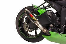 2015 ZX6R MGP Carbon Fiber Exhaust Slip On 2009 2010 2011 2012 2013 2014