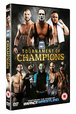 New & Sealed TNA One Night Only: Tournament Of Champions 2013 DVD Sting, Hardy