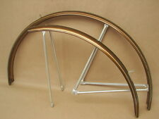 Vintage NOS Schwinn Bicycle Sierra Brown w/ Gold Stripes Front & Rear Fender #2