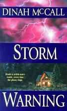 Storm Warning by Dinah McCall (2001, Paperback) CC624