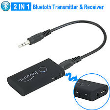 Wireless Bluetooth Stereo Audio Adapter Bluetooth Transmitter and Receiver 2 in1