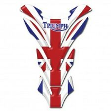 Motorcycle Tank Pad Protector Sticker | (Triumph) England Union Jack Flag