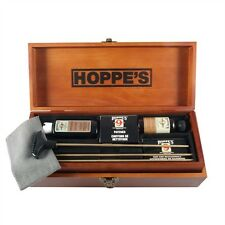 HOPPES - BENCHREST PREMIUM UNIVERSAL GUN CLEANING KITS IN WOOD BOX