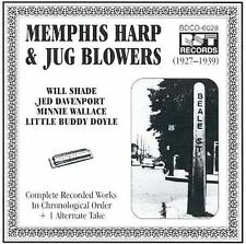 MEMPHIS HARP AND JUG BLOWERS... - Various Artists CD * BRAND NEW/STILL SEALED *