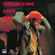 Let's Get It On by Marvin Gaye 2003 SUPER AUDIO CD SACD SEALED BRAND NEW RARE