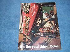 1970 Coca-Cola Kelly Chadwick Funny Car Vintage Ad Coke