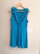 LA Class Turquoise Knit Dress Size L