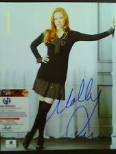 Molly Quinn signed *CASTLE* PRETTY Young 8x10 Photo GA Cert # GV728652