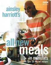 AINSLEY HARRIOT'S All New Meals In Minutes Cookbook (p/b 2005) FREE EXPRESS