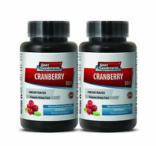 Cranberry 500 - Cranberry Extract 50:1 - Stomach Ulcer, Bladder Health Pills 2B
