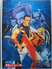 POSTER ART OF FIGHTING FLYER ARCADE RECREATIVA NEO GEO DIN-A 3 DIN A3
