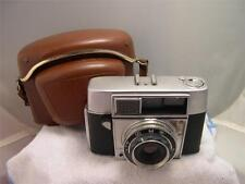 Vintage Agfa Optima I 35mm Film Camera W/ Leather Case AS-IS Parts #V711