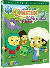 Let's Learn Quran with Zaky & Friends Part 2 DVD Islamic Cartoon Watch & Learn