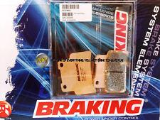 PER APRILIA RS 125 2009 09 PASTIGLIE ANTERIORE SINTERIZZATE FRENO BRAKING CM55 S
