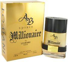 Lomani Spirit Millionaire Cologne Men Perfume Eau De Toilette Spray 3.4 oz 100ml