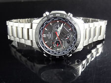Casio EQWM1000DB-1 Men's Edifice Tough Solar Wave Ceptor Chronograph Date Watch