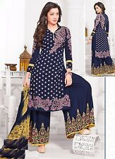 Elegant Crepe Designer Printed Unstitched Dress Material Suit D.No AM1421