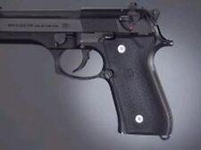 Hogue Grips  Grip Panels Rubber Black Fits Beretta Pistol 92 M9 96 # 92010 New