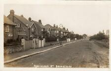 Framingham Road Brooklands Nr Sale Manchester RP old pc used 1933
