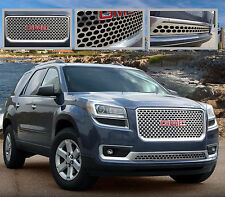 2013 2014 2015 2016 GMC ACADIA 2PC STAINLESS STEEL Z GRILLE GRILL E&G
