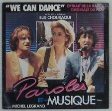 Deneuve Lambert 45 tours Michel Legrand Elie Chouraqui 1984