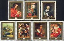 Hungary 1969 Dutch Artists/Painting/Art/Painters/Van Dyck/Hals 7v set (n45545)