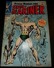SUB-MARINER #1 (1968) Key Issue! VG+ to VG/FN 4.5 to 5.0