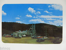 Vintage Postcard - Mollie Kathleen Gold Mine, Cripple Creek, CO, Old Cars Unused