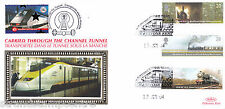 2004 Trains - Benham Channel Tunnel Official (Pr) - Railway Stamp 2