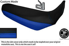 BLACK & BLUE VINYL CUSTOM FITS YAMAHA XT 660 X 2004-2017 SEAT COVER