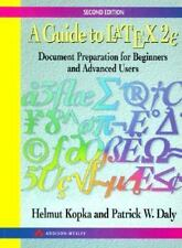 A Guide to LATEX: Document Preparation for Beginners and Advanced Users (2nd Edi