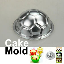 DIY Non-toxic Aluminum Birthday Cake Baking Jello Chocolate Football Pan Mold