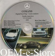 2004 2005 2006 Mercedes S350 S500 S600 S55 AMG Navigation DVD Map 2010 Update
