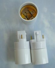 Three (3)Adapters(Converters) to use regular CFL bulbs in an Aerogarden -style2