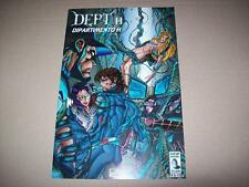 DEPT.H. DIPARTIMENTO H-LIBERTY-N. 8-NEW BREED STUDIO-4 GIUGNO 1997-COME NUOVO!