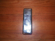 "Cigar Case Silver-plated, holds 3 cigars 7"" x 2 1/4"""