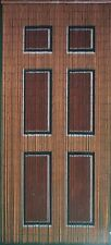 Beaded Door Curtains Bamboo Bead Curtain Drapes Hanging Room Divider Art Wooden